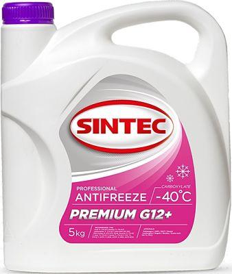 Антифриз Sintec Premium G12+ в канистре 5 кг