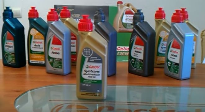 003 opt - Трансмиссионное масло castrol syntrans multivehicle 75w 90