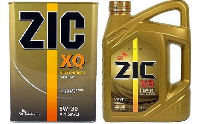 Канистры масла зик XQ и X9