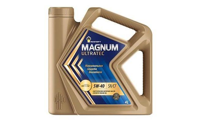 Роснефть Magnum Ultratec 5w40