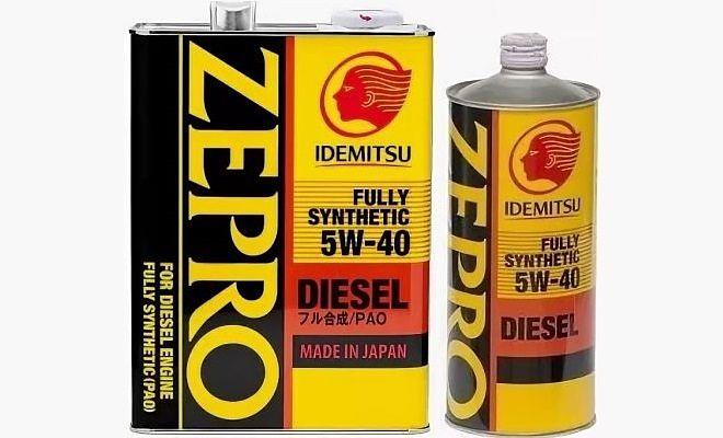 Idemitsu Zepro Diesel 5w40
