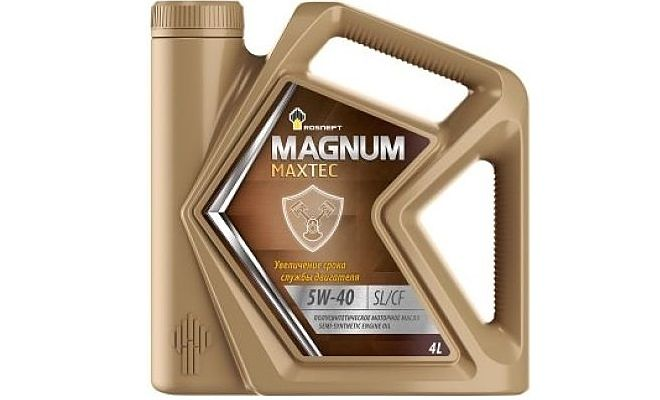 Роснефть Magnum Maxtec 5w40